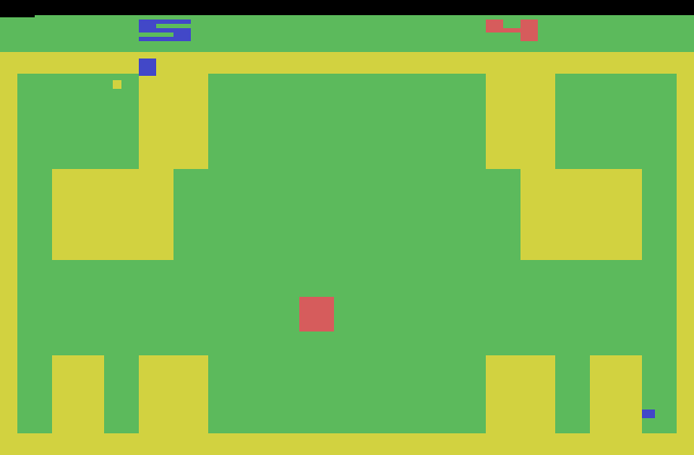 Golf? More like the Block-and-dot game!